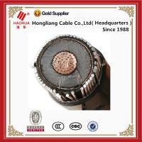 Buy cheap MV Cable 8.7/15(17.5) kV 70mm2 xlpe power cable Cu/XLPE/CTS/LDPE or LLDPE from wholesalers
