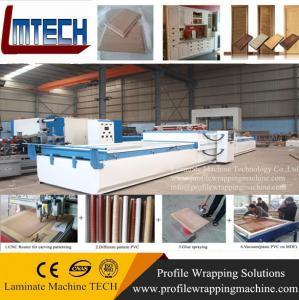 Quality High performance vacuum membrane hot press laminate machine for sale
