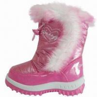 China Winter boots in fuchsia and lilac colors on sale