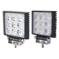 China Square Auto Driving Light 27w Led Work Lights For Trucks Life Span 50000 Hours on sale