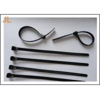 Quality Self-locking black UL ROHS CE 3.6 mm width nylon cable tie for sale