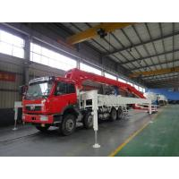 Quality LNG Engine 37m 8x4 FAW 380HP Concrete Pump Trucks with RHD Type for sale