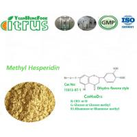 Buy cheap Methyl Hesperidin Light Yellow Citrus Extract Powder CAS 11013-97-2 Used As Drug from wholesalers