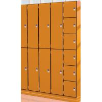 Coin Operated Changing Room Lockers