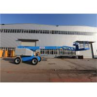 Buy cheap Motorized Electric Boom Lift Multifunctional Large Load Capacity from wholesalers