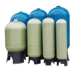 China Custom FRP Pressure Tank Fiberglass Mineral Water Storage Composite Pressure Vessels on sale