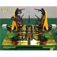 Buy Customized Welding Jig Fixture For Tractor Engine Cover Stamping Component at wholesale prices