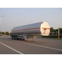 Quality 45000L-3 axles-Aluminum Fuel  Tanker Semi-Trailer for Oil , jet for sale