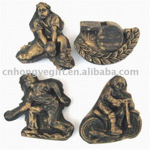 China Polyresin Fridge Magnet ( Sport Design) on sale