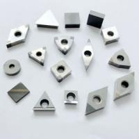 Quality Customized Size CBN Grooving Inserts 4500 HV Hardness Silver Grey Color for sale