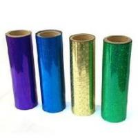Quality Flat Hot Holographic Stamping Foil For Greeting Card / Food Packing for sale