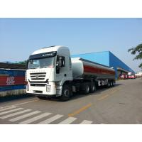 Quality 35000L-3 axles-Carbon Steel Monoblock Tanker Semi-Trailer for Fuel and Water for sale