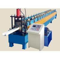 China High Speed Round Gutter Machine , PLC control Metal Gutter Bending Machine on sale