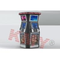 Quality Multimedia Speaker Interactive Touch Airport Card Dispenser Kiosk With Track Ball for sale