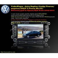 China Special Car DVD for VolksWagen  Jetta Sagitar Caddy Touran magotan GOLF V Passat B6 etc.(2006-2010) on sale