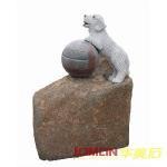 Quality Stone Dog, Granite Dog Statue (XMJ-DO02) for sale