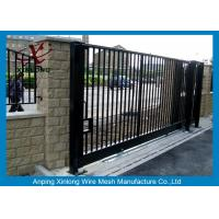 Quality Wrought Iron Automatic Security Gates Commercial For Living Quarter XLF-03 for sale