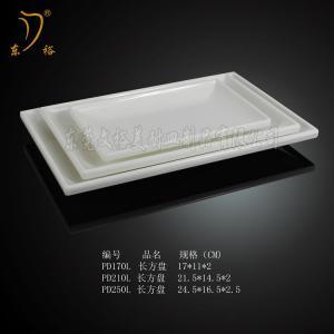 Quality Melamine oval plate/100% plastic plate melamine christmas long plate for sale