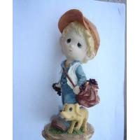 China Polyresin Boy Statue on sale
