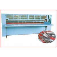 Quality Thin Blade Slitting Creasing Machine, Rotary Slitting + Scoring, with Safety Cover for sale