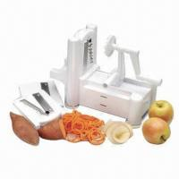 Turning slicer quality turning slicer for sale - Paderno world cuisine spiral vegetable slicer ...