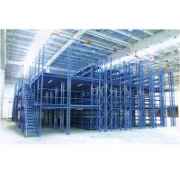 Quality Pallet Two Tier Mezzanine Racking System With Environmental Powder Printing for sale