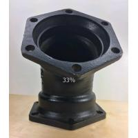 "Quality 45 Degree Short Radius Elbow 350Di Ductile Iron AWWA C153 6"" MJ Resin Sand Cast for sale"