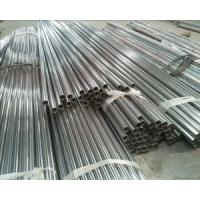 China AISI 201 / 304 / 316 Stainless Steel Welded Pipe Round Stainless Steel Tube on sale