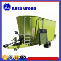 China Pull type TMR feed mixer PTO Vertical Mixer Wagons cattle feed mixing machine on sale