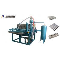 China Small Paper Pulp Moulding Machine , Small Egg Tray Production Line , Small Egg Tray Making Machine 1000pcs/h on sale