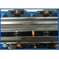 Quality PLC Control Steel Metal Door Frame Roll Forming Machine 5.5KW 8 - 12 m / min for sale
