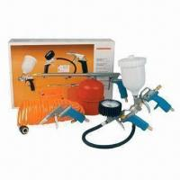 China Air Spray Gun Kit, Includes Spray Paint Gun and Blowing Air Gun, CE or GS Certified on sale