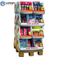 China POS Cardboard Pallet Trays 120 * 120 * 140 cm For Retail Building Blocks on sale
