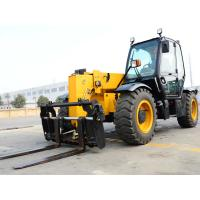 Quality XC6-3507 Mini 3.5 Ton Telescopic Telehandler Forklift Earthmoving Machinery  Used to Handle Loose Materials for sale