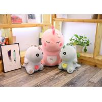 Cute Pink Dinosaur Soft Toy Doll Handcuffs Two In One Plush Toy CE Approved
