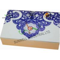 Buy Both Sides Printing Cardboard Food Packaging Boxes , Mooncake Display Packaging Box at wholesale prices