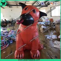 Quality Orange Ugly Inflatable Dog,Inflatable Dog Mascot,Inflatable Dog Cartoon,Giant Dog for sale