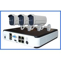 China Standalone Waterproof Outdoor cctv cameras kits with 3.6 / 6MM Lens on sale