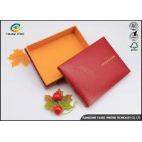 Quality Handmade Custom Cardboard Boxes With Lids Golden Covering For Chocolate for sale