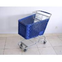 Quality Plastic Shopping Cart (PSAM-120L) for sale