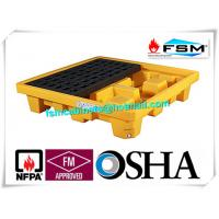 Poly Oil Drum Containment Pallet Spill Platform For 4 Drum