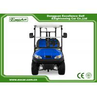 Blue Color Electric Golf Buggy 48V Trojan Battery Mini Golf Buggy