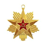Quality custom  lucky star medal/military medals/gold medals for sale
