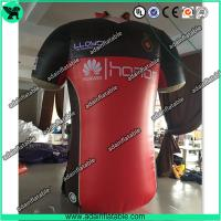 Quality Sports Cloth Promotion Advertising Inflatable T-shirt Cloth Replica Model for sale