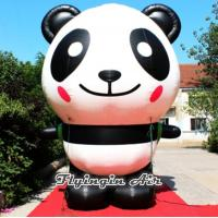 Quality 3m Height Inflatable Cute Panda for Zoo and Other Events Decoration for sale