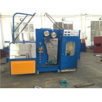 Quality 15KW High Speed Wire Drawing Machine , Copper Wire Making Machine With Annealer for sale