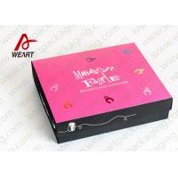 Buy cheap Foladable Flat Large Decorative Gift Boxes With Lids from Wholesalers