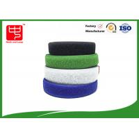 Two sided velcro sew on hook and loop tape various color 25m / roll
