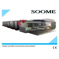 Buy Vacuum Transfer Flexo Printer Slotter Die Cutter , High Defination Rotary Die at wholesale prices