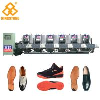 China Energy Saving Static Rubber Sole Making Machine Mono Color 5.3*3.5*2.6m on sale